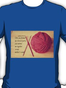 Psalm 139 Knitted together T-Shirt