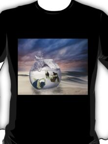 2 Lost Souls Living in a Fishbowl T-Shirt