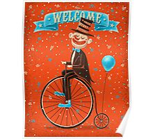 Penny-farthings circus Poster
