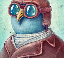Pilot Captain Ivan Twittor by limeart