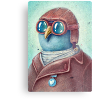 Pilot Captain Ivan Twittor Metal Print
