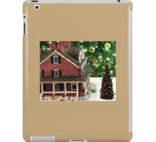 The Gingerbread Mansion Longwood Gardens Christmas 2011 iPad Case/Skin