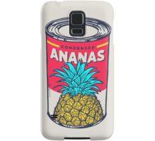 Condensed ananas Samsung Galaxy Case/Skin