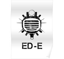 Fallout: ED-E [BLACK] Poster
