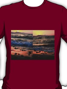 Evening Waves - Nature Photography T-Shirt