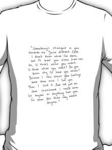 Tate Langdon Quote Print T-Shirt