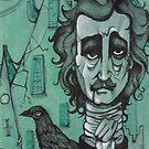 Mr Edgar Allan Poe by Paolavk