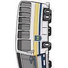 Hamilton Street Railway Bus by MacKaycartoons