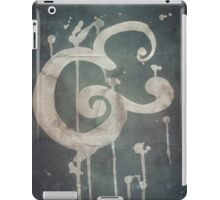 Ampersand in Blue : v.01 iPad Case/Skin