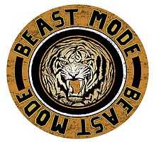 Beast Mode (Orange) by thepratfactory