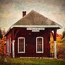 Middletown NJ Railway Station by PineSinger