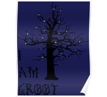 I Am Groot (Glow) Poster