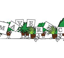 Plant Poses - Maverick! by havpencil