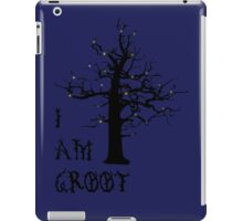 I Am Groot (Glow) iPad Case/Skin