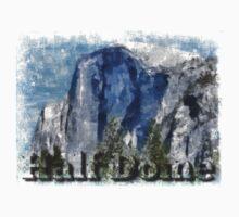 Rock Climbing Yosemite Half Dome Abstract Kids Clothes