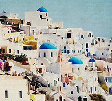 Mosaic - Santorini by theparrishhouse