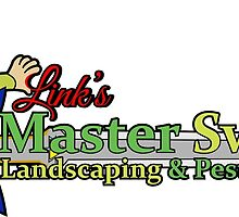 Links Master Sword Landscaping by dontpanictees