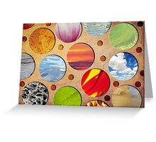 Spots of Nature Greeting Card