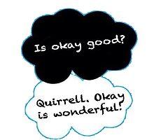 Is Okay Good? Quirrell. Okay Is Wonderful! by danishstarkid