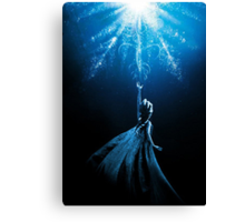 Frozen Heart Canvas Print