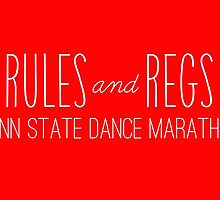 Rules and Regulations Penn State Dance Marathon by maggierosehall