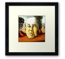 Borges/San Ambrosio  Framed Print