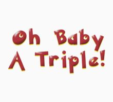 Oh Baby A Triple! Kids Clothes