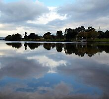 Tweed River Reflections by Wayne  Nixon  (W E NIXON PHOTOGRAPHY)