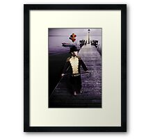 Let Your Dreams Take You There Framed Print