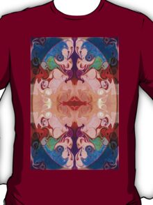 Drenched In Awareness Abstract Healing Artwork  T-Shirt