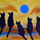 Five Meows See the Wild Blue by Susan Greenwood Lindsay