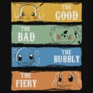 The Good,The Bad,The Bubbly,The Fiery by piercek26