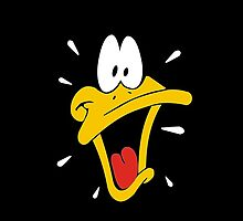 Daffy Duck Cool Design  by zeeshanahmad88