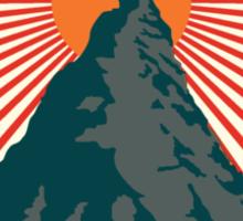 Rock Climbing Enlightenment Sticker