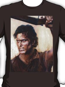 Bruce Campbell V.S Army of Darkness T-Shirt