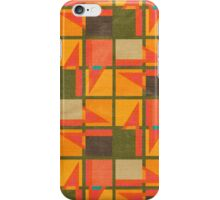 Geometric squares iPhone Case/Skin