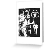 John Bonham Led Zeppelin Greeting Card