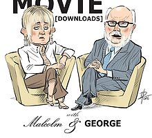 At the Movie Downloads with Malcolm and George by David Pope