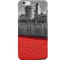 Sea Of Red iPhone Case/Skin