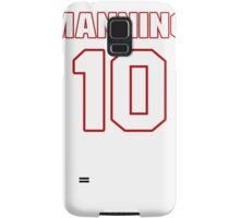 NFL Player Eli Manning ten 10 Samsung Galaxy Case/Skin