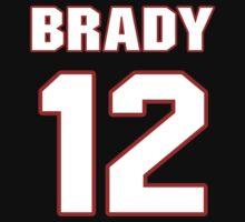 NFL Player Tom Brady twelve 12 by imsport