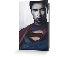 Smallville Savior  Greeting Card