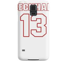 NFL Player Odell Beckham thirteen 13 Samsung Galaxy Case/Skin