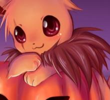 Pumpkin Field :: Eevee Sticker