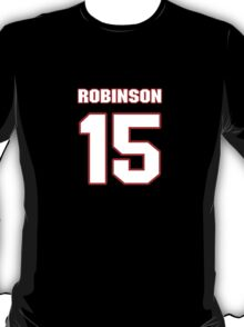 NFL Player Aldrick Robinson fifteen 15 T-Shirt