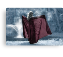 The Ice Princess Canvas Print