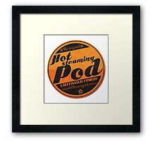 Hot Steaming Pod Shirt Framed Print