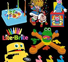 90s Nostalgia Toys by Maggie Smith