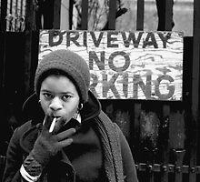 LFNY 1975 ~ Driveway, no parking by Baina Masquelier