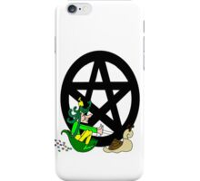 Faerie with Racing Snail and Pentacle iPhone Case/Skin